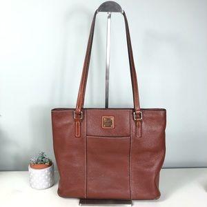 Dooney & Bourke Lexington Tote Cognac Leather